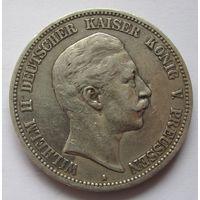 Пруссия Германская империя 5 марок 1895