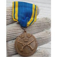 Военная спортивная Медаль Стрельба 1952 Швеция