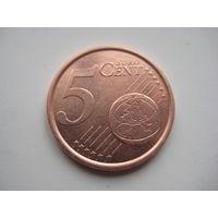 ИСПАНИЯ 5 ЕВРОЦЕНТОВ 1999 ГОД