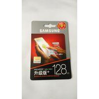 Карта памяти Samsung EVO Plus microSDXC 128GB