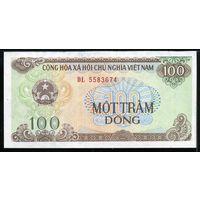 Вьетнам 100 донгов 1991 г. (Pick 105) UNC.  распродажа