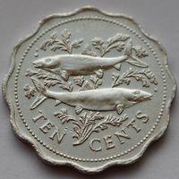 Багамы, 10 центов 2005 г