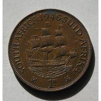 Брит. Южная Африка 1 Пенни 1946 GEORIUS VI (D)