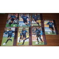 Карточки игроков Inter 98-99