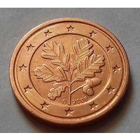 2 евроцента, Германия 2008 D, AU