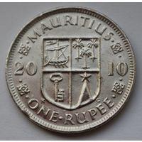 Маврикий 1 рупия, 2010 г.
