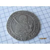 Саксония 1/2 талера  Август с ключом 1563 г.