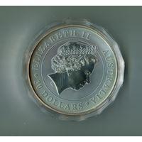 Австралия. 30 долларов. 2012г. 1кг.серебра.