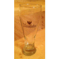 """Пивной бокал  под пиво """"Urstein""""."""