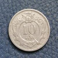 Австро-Венгрия. 10 геллеров  1894