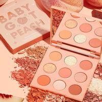 ColourPop baby got peach палетка теней