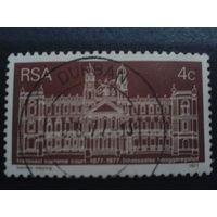 ЮАР 1977 здание правительства в Трансвале
