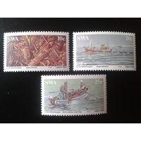 Юго-Западная Африка 1983 Рыболовство