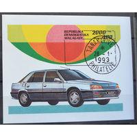 Малагаси 1993г. автомобиль 1 блок. гаш.