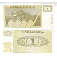 1 толар  Словении    пресс!!!