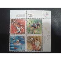 Канада 1999 спорт квартблок