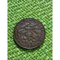 Нидерландский Суринам 1 цент 1959 г