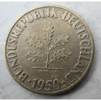 Германия. 10 пфеннигов 1950 F  .102