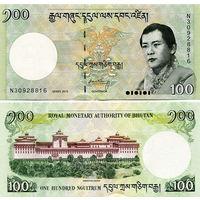 Бутан  100 нгултрум  2015 год   UNC