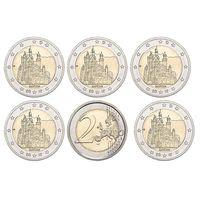 Германия 2 евро 2012 Бавария (A,D,F,G,J)  5 монет