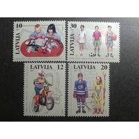 Латвия 1997 детский спорт полная серия