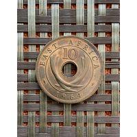Британская Восточная Африка 10 центов 1964 Нг.