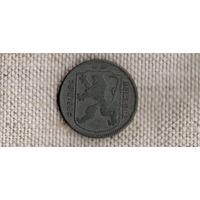 Бельгия 1 франк 1942/(Qu)