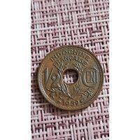 Французский Индокитай 1/2 сантима 1939 г