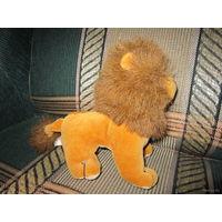 Мягкая игрушка Львёнок, 16 см