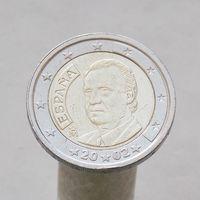 Испания 2 евро 2002 ( 1-й тип )