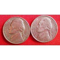 5 центов, США 1979; 1994 (D)