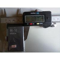 Аккумуляторная батарея Nokia BL-5J 3.7v