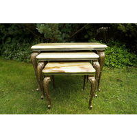 Комплект Цветочных Столиков 3 в 1 Барокко, Elegant Set