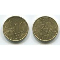 Испания. 10 евроцентов (1999)