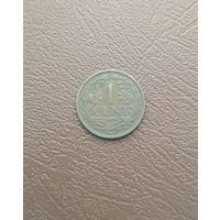 Суринам / 1 cent / 1957 год