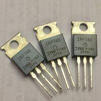 IRF740, Транзистор, N-канал 400В 10А. F740