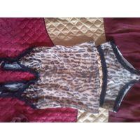 Комплект белья (майка и трусики), новый, рр 38-40