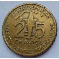 Французская Западная Африка - Того 25 франков 1957