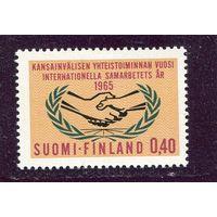 Финляндия. Год международного сотрудничества