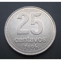 Аргентина 25 сентаво 1996г.