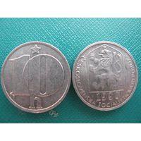Чехословакия  10 геллер  1990
