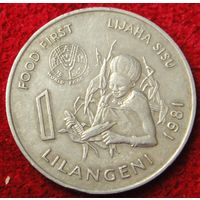 6804:  1 лилангени 1981 Свазиленд ФАО