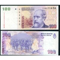 Аргентина 100 песо 2003 UNC