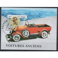 Бенин /1997/ Старинные Автомобили / Форд / Michel #BJ BL30 / Блок Сувенирный Лист
