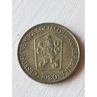 Чехословакия 1 крона 1980г.