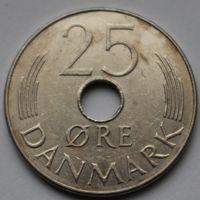 Дания, 25 эре 1983 г