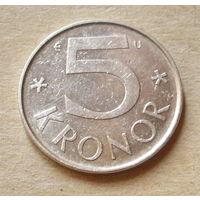 5 крон 1984 года. Швеция.