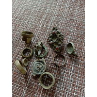 Кольца,брошка,украшения старинные