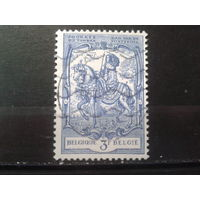 Бельгия 1960 День марки. Граф Таксис на коне, живопись
