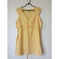 Блузка туника лен